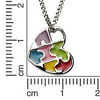 ZEEme For Kids Anhänger mit Kette 925/- Sterling Silber Lack mehrfarbig - Produktdetailbild 1