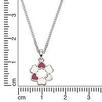 ZEEme for Kids Anhänger mit Kette 925/- Sterling Silber Lack Herzen - Produktdetailbild 1