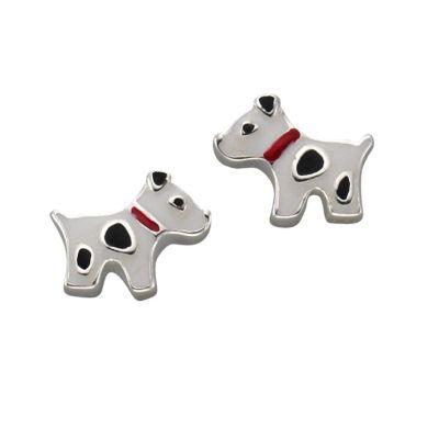 ZEEme for Kids Ohrstecker 925/- Sterling Silber Hund