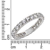 Zeeme Gemstones Ring 925/- Sterling Silber Weißtopas weiß Glänzend (Größe: 056 (17,8)) - Produktdetailbild 1