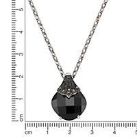 ZEEme Jewelry Anhänger mit Kette 925/- Sterling Silber Markasit Achat - Produktdetailbild 2