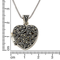 ZEEme Jewelry Anhänger mit Kette 925/- Sterling Silber Markasit - Produktdetailbild 1