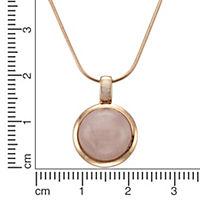 ZEEme Jewelry Anhänger mit Kette 925/- Sterling Silber Rosenquarz - Produktdetailbild 2