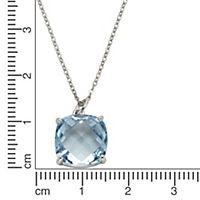 ZEEme Jewelry Anhänger mit Kette 925/- Sterling Silber Blautopas - Produktdetailbild 2