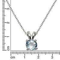 ZEEme Jewelry Anhänger mit Kette 925/- Sterling Silber rhodiniert - Produktdetailbild 2