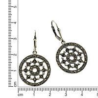 ZEEme Jewelry Ohrhänger 925/- Sterling Silber Markasit - Produktdetailbild 1