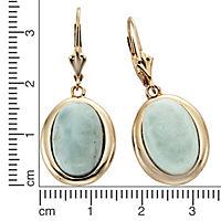 ZEEme Jewelry Ohrhänger 925/- Sterling Silber Larimar - Produktdetailbild 1