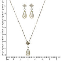 ZEEme Pearls Perlset 925/- Sterling Silber Perle weiß - Produktdetailbild 2