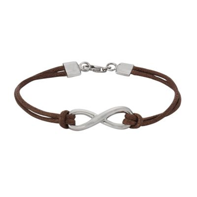 ZEEme Silver Armband 925/- Sterling Silber Textilarmband
