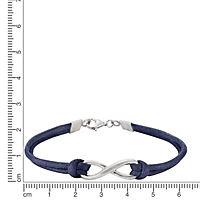 ZEEme Silver Armband 925/- Sterling Silber Textilarmband - Produktdetailbild 1