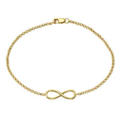 ZEEme Silver Armband 925/- Sterling Silber Infinity