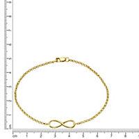 ZEEme Silver Armband 925/- Sterling Silber Infinity - Produktdetailbild 1