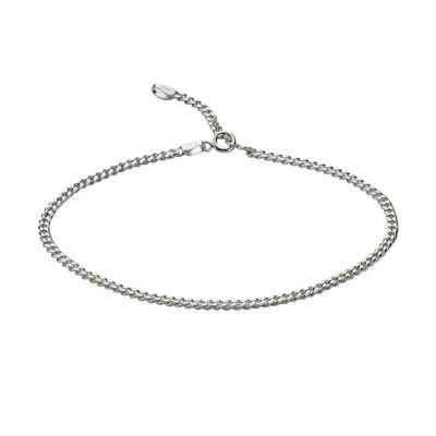 ZEEme Silver Fußkette 925/- Sterling Silber 23-26cm