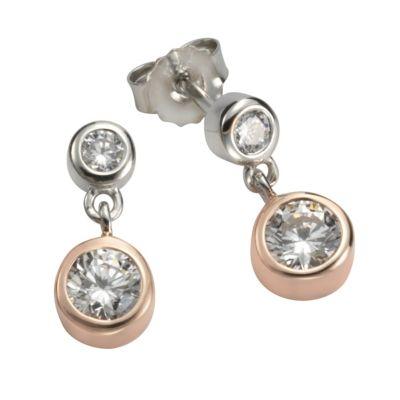 ZEEme Silver Ohrhänger 925/- Sterling Silber vergoldet