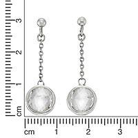 ZEEme Silver Ohrhänger 925/- Sterling Silber Swarovski Kirstalle - Produktdetailbild 1