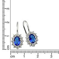ZEEme Silver Ohrhänger 925/- Sterling Silber rhodiniert - Produktdetailbild 1