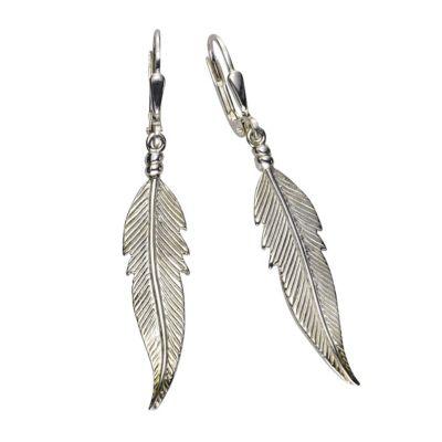 ZEEme Silver Ohrhänger 925/- Sterling Silber 48mm lang