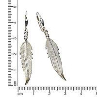 ZEEme Silver Ohrhänger 925/- Sterling Silber 48mm lang - Produktdetailbild 1