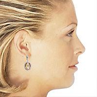 ZEEme Silver Ohrhänger 925/- Sterling Silber Zirkonia - Produktdetailbild 2