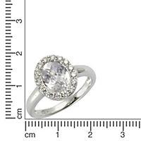 ZEEme Silver Ring 925/- Sterling Silber (Größe: 052 (16,6)) - Produktdetailbild 1