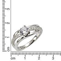 ZEEme Silver Ring 925/- Sterling Silber (Größe: 058 (18,5)) - Produktdetailbild 1