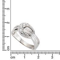 ZEEme Silver Ring 925/- Sterling Silber Zirkonia weiß (Größe: 054 (17,2)) - Produktdetailbild 1