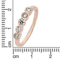 ZEEme Silver Ring 925/- Sterling Silber Zirkonia weiß (Größe: 058 (18,5)) - Produktdetailbild 1