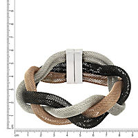 ZEEme Stainless Steel Armband Edelstahl dreifarbig 20cm - Produktdetailbild 1