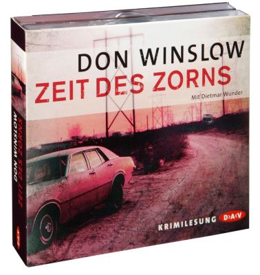Zeit des Zorns, 5 Audio-CDs, Don Winslow