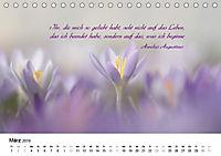Zeit für Trauer - begleitet mit Zitaten (Tischkalender 2019 DIN A5 quer) - Produktdetailbild 3