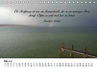 Zeit für Trauer - begleitet mit Zitaten (Tischkalender 2019 DIN A5 quer) - Produktdetailbild 5