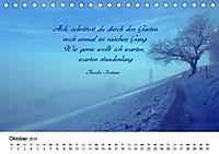 Zeit für Trauer - begleitet mit Zitaten (Tischkalender 2019 DIN A5 quer) - Produktdetailbild 10