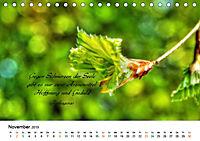 Zeit für Trauer - begleitet mit Zitaten (Tischkalender 2019 DIN A5 quer) - Produktdetailbild 11