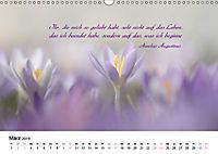 Zeit für Trauer - begleitet mit Zitaten (Wandkalender 2019 DIN A3 quer) - Produktdetailbild 3