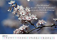 Zeit für Trauer - begleitet mit Zitaten (Wandkalender 2019 DIN A3 quer) - Produktdetailbild 6