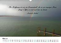 Zeit für Trauer - begleitet mit Zitaten (Wandkalender 2019 DIN A3 quer) - Produktdetailbild 5