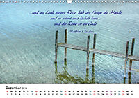 Zeit für Trauer - begleitet mit Zitaten (Wandkalender 2019 DIN A3 quer) - Produktdetailbild 12