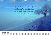 Zeit für Trauer - begleitet mit Zitaten (Wandkalender 2019 DIN A3 quer) - Produktdetailbild 10
