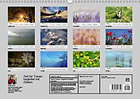 Zeit für Trauer - begleitet mit Zitaten (Wandkalender 2019 DIN A3 quer) - Produktdetailbild 13