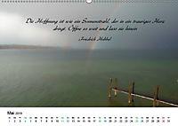 Zeit für Trauer - begleitet mit Zitaten (Wandkalender 2019 DIN A2 quer) - Produktdetailbild 5