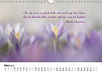 Zeit für Trauer - begleitet mit Zitaten (Wandkalender 2019 DIN A4 quer) - Produktdetailbild 3
