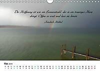 Zeit für Trauer - begleitet mit Zitaten (Wandkalender 2019 DIN A4 quer) - Produktdetailbild 5