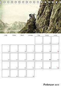 Zeitlos - Menschen am Berg (Tischkalender 2019 DIN A5 hoch) - Produktdetailbild 2