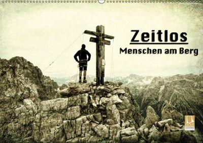 Zeitlos - Menschen am Berg (Wandkalender 2019 DIN A2 quer), Georg Niederkofler