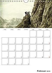 Zeitlos - Menschen am Berg (Wandkalender 2019 DIN A4 hoch) - Produktdetailbild 2