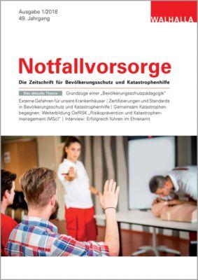 Zeitschrift Notfallvorsorge Heft 01/2018