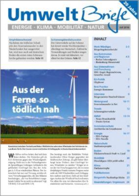 Zeitschrift UmweltBriefe Heft Juli 2016