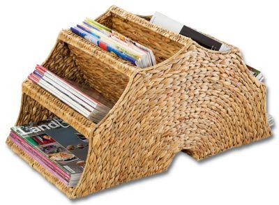 Zeitschriftenständer (Ausführung: Natur)