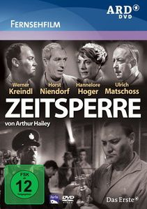Zeitsperre, DVD, Rolf Defrank, Irene Dodel, Arthur Hailey, Horst van Diemen
