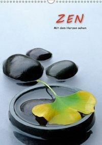 ZEN - Mit dem Herzen sehen (Wandkalender 2019 DIN A3 hoch), Jürgen Pfeiffer